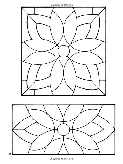 Floral Stained Glass Pattern Book 357 best stained glass patterns images on