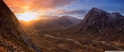 Sunrise 4k Highland Ultra Wallpapers Desktop Ultrawide
