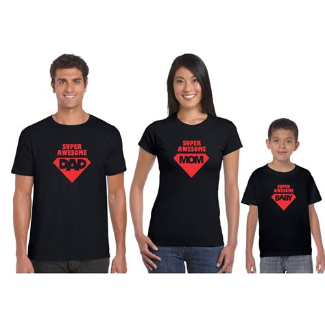 Super Awesome Family T shirt   Giftsmate