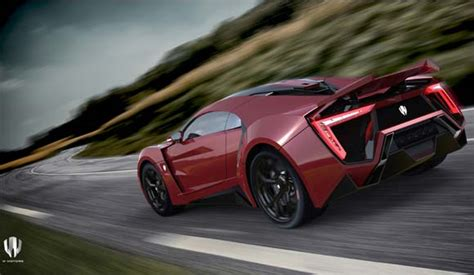 Lykan Hypercar : W Motors Unveils Its First Arabian Hypercar Production