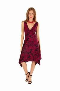 Robe Mi Longue Mariage : robe mi longue asym trique fleurie pour mariage lina ~ Melissatoandfro.com Idées de Décoration