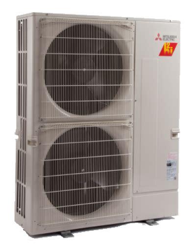 mitsubishi  zone  btu heat pump hyper heat