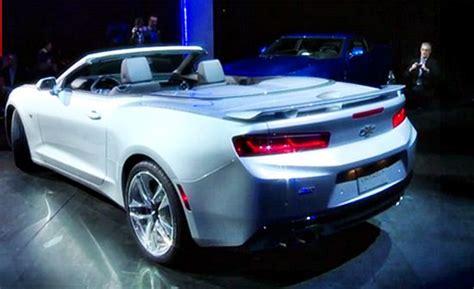 2016 Chevrolet Camaro Convertible Price Release Date