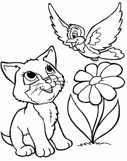Coloring Animals Pages Animal Printable Colouring Disney