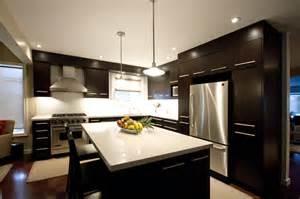 Dark Blue Rugs by Dark Brown Kitchen Modern Kitchen Toronto By