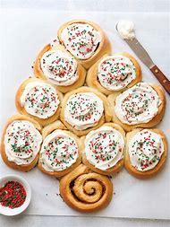 christmas tree cinnamon rolls - Best Christmas Breakfast