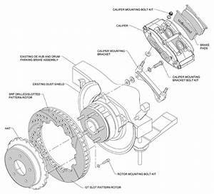 Wilwood Disc Brake Kit Rear 65