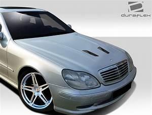 Mercedes Classe A 2000 : 2000 2002 mercedes s class w220 duraflex black series look hood 1 piece body kit ebay ~ Medecine-chirurgie-esthetiques.com Avis de Voitures