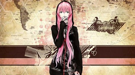 Aesthetic Anime Girls Pink Hair Wallpapers Wallpaper Cave