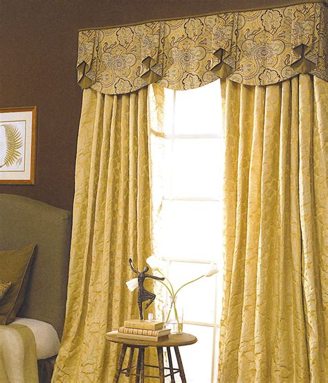 Bedroom Curtains With Valance by Drapery Ideas Shown Floor Length Draperies That