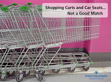 Car Seats And Shopping Carts