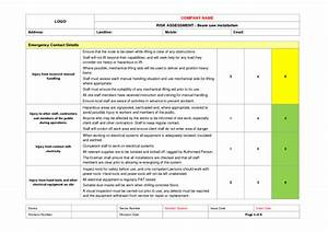 famous operational assessment template pictures With operational risk assessment template