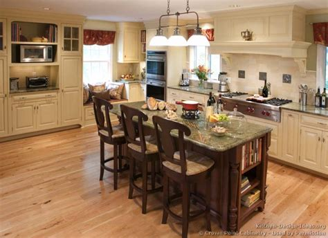 kitchen island ideas pictures of kitchens traditional two tone kitchen