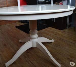 Table Ronde Extensible Blanche : table ronde extensible ikea chaises occasion posot class ~ Teatrodelosmanantiales.com Idées de Décoration