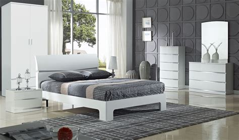 white shiny bedroom furniture raya furniture