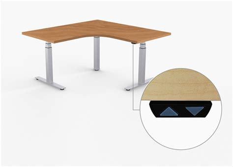 stand up height adjustable desk l shaped adjustable stand up desk adjustable height desks