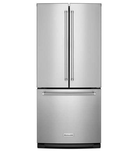 counter depth refrigerator width 30 kitchenaid 174 20 cu ft 30 inch width standard depth