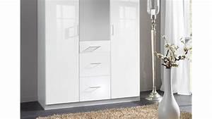 Schlafzimmerschrank modern mit spiegel tesoleycom for Weißer hochglanz schrank