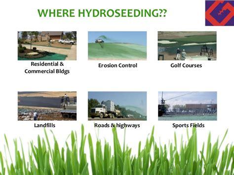 hydroseeding prices hydroseeding for erosion control