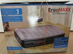 Luftbett Ergomaxx Xl : ergomaxx hohes luftbett xl 205x163x47 mit integrierter elektr pumpe in steinbach betten ~ Sanjose-hotels-ca.com Haus und Dekorationen