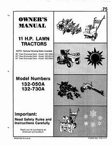 Bolens Lawn Mower 132