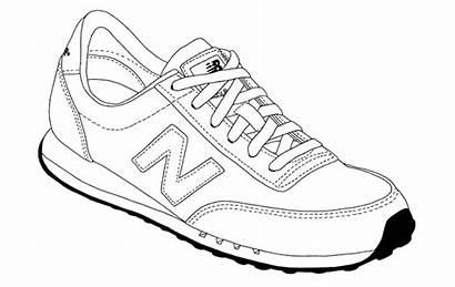 Sneakers Drawings Newbalance