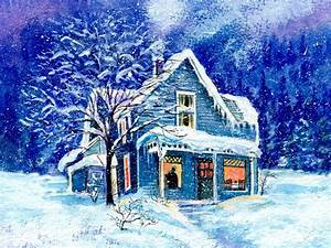 Blue Christmas House Pictures, Photos, and Images for ...