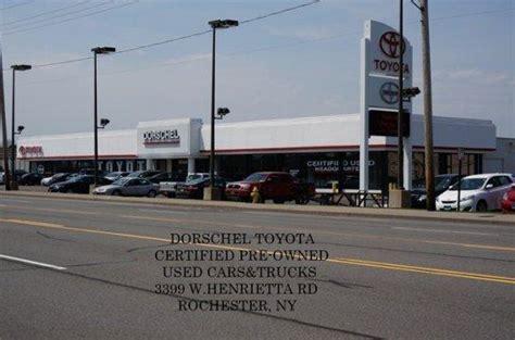 dorschel toyota rochester ny  car dealership