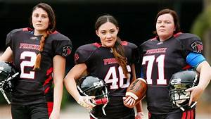 Women padding up to play American football   News Local