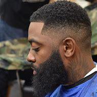 Shadow Fade Haircut Black Men