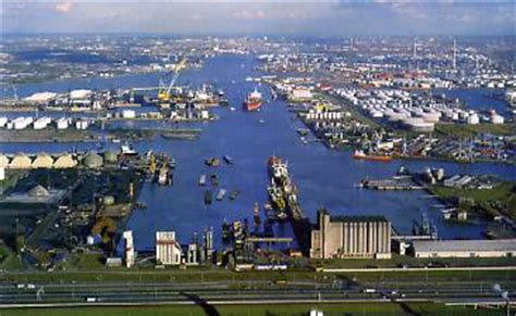 le port de rotterdam urbanisation