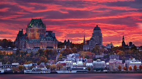Quebec City Break Whale Tail Two Cities