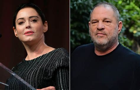 Harvey Weinstein pushes back against Rose McGowan's sexual ...
