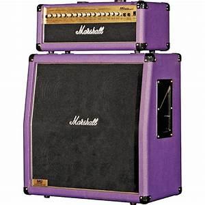 Marshall    Mg100hdfx  Mg412a Slant Purple Half Stack