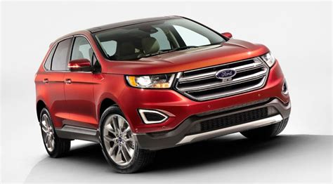 ford crossover ford edge 2015 first pictures of new european suv by