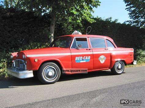 1960 Chevrolet Checker Marathon Taxi Yellowcab  Car Photo
