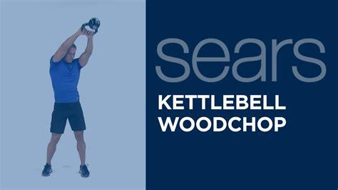 kettlebell woodchop