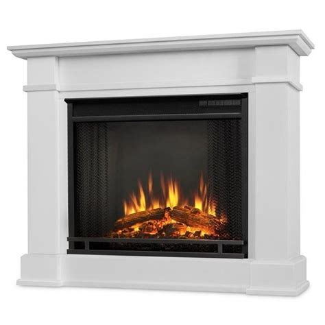 indoor electric fireplace real devin indoor electric fireplace in white 1220e w