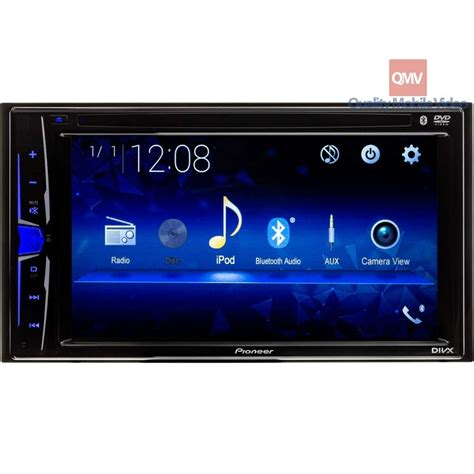 pioneer avh    dash double din car stereo receiver