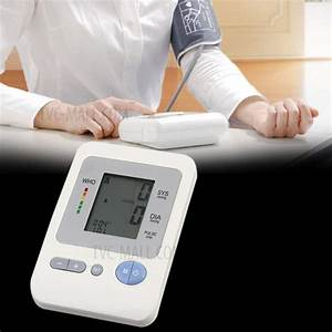 Automatic Portable Digital Upper Arm Blood Pressure Pulse
