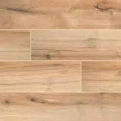 3 50 palmetto porcelain 6x36 quot cognac wood look tile