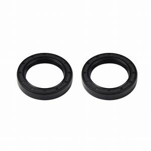 2pcs Left Rear Axle Hub Seal For Honda Rancher 350 400 420 Foreman Rubicon 500