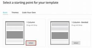 How do i send an email using a mailchimp template for Creating mailchimp templates