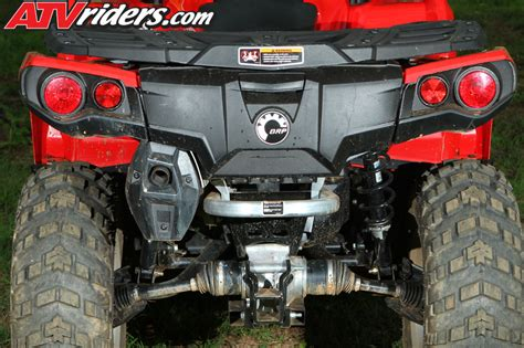 can am outlander tail light 2012 can am outlander 1000 800r utility atv test ride