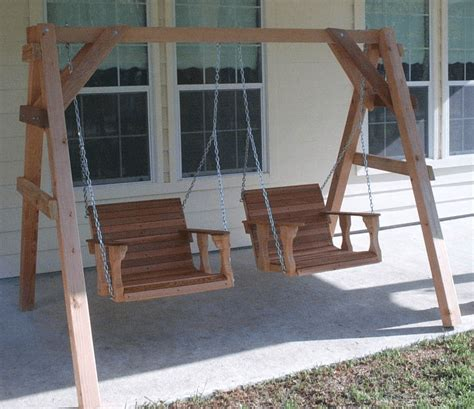 simple tips to build diy wood porch swing frame plans