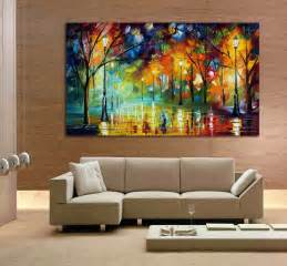 painting livingroom aliexpress buy 100 city at 3 knife painting modern living room wall