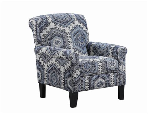Sears Home Accent Chairs Simmons Upholstery Scarlet Accent Chair In Tequila Indigo Sears