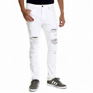2015 Light Wash Denim Jeans Light Tears Front White Ripped Jeans Men Jxz108 - Buy Ripped Jeans ...