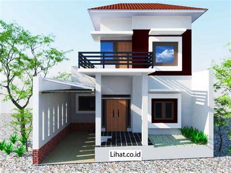 desain rumah modern klasik    lantai minimalis tapi