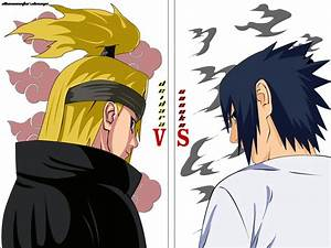 Deidara Vs Sasuke by Illusionator on DeviantArt